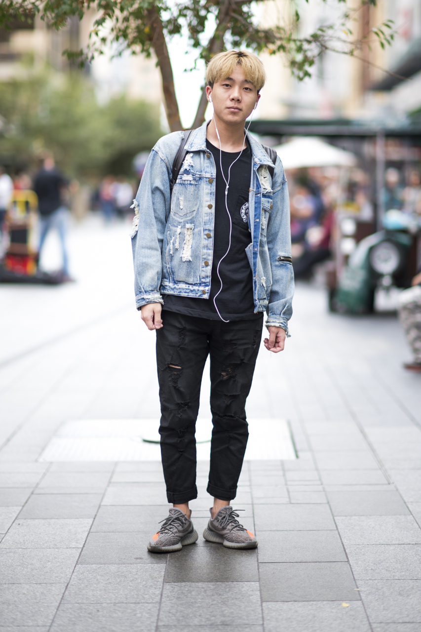 SA: Ryan, student, Rundle Mall. Photo: Eli Francis