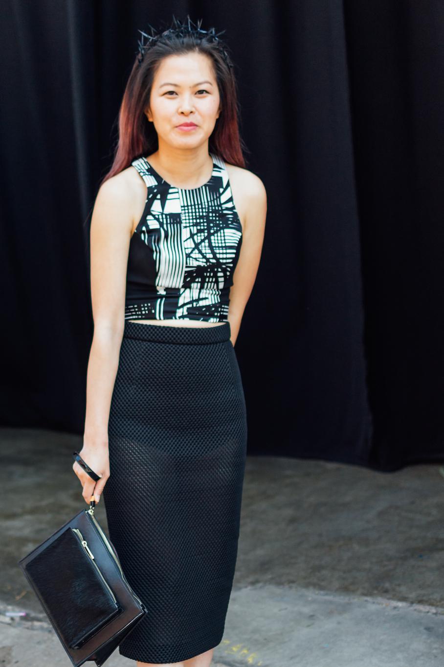 SA: Hue Le, Designer, Adelaide Fashion Festival. Photo: Dimitra Koriozos