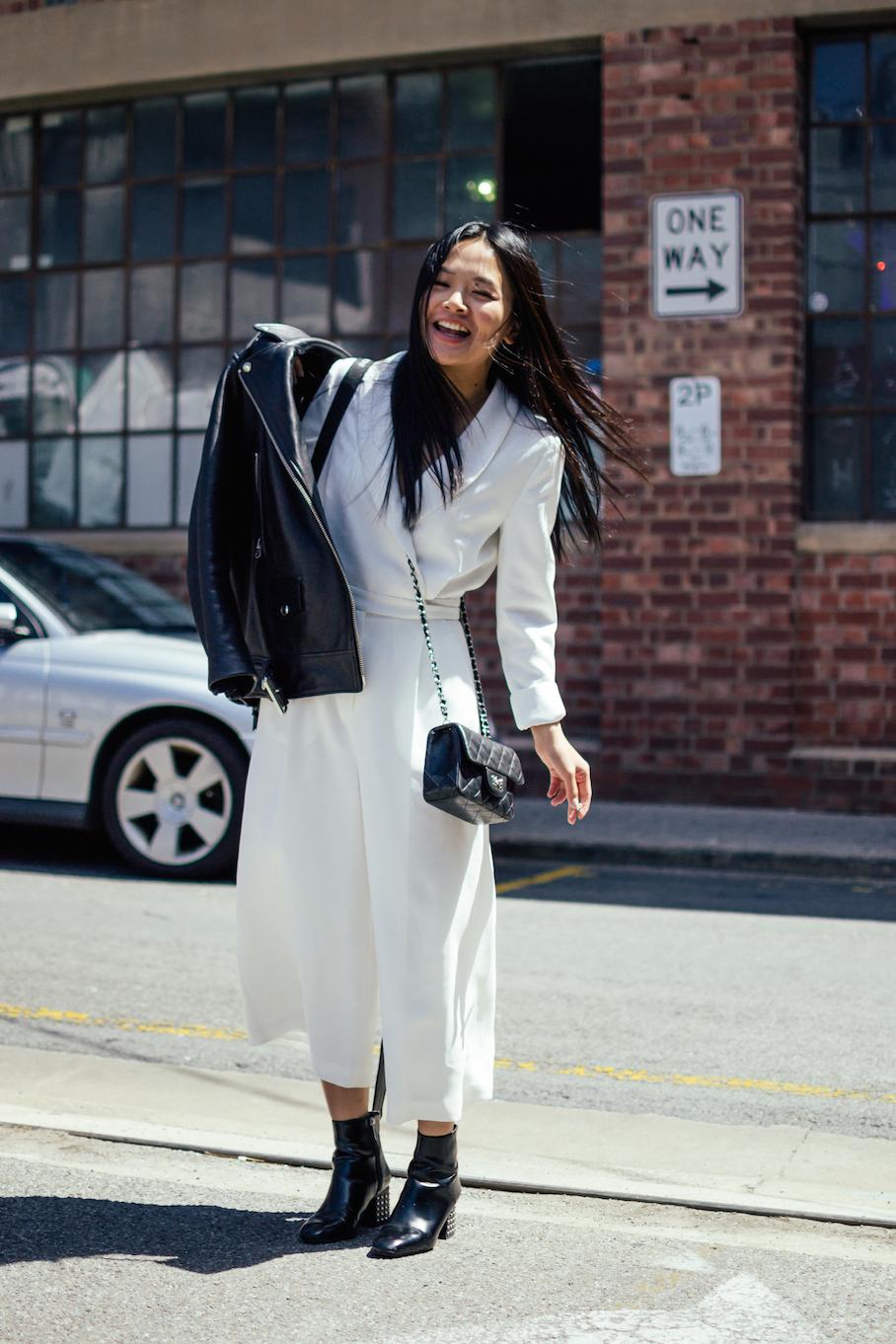 SA: Haiyun Xu, PR Manger - Australian Fashion Labels China at the Adelaide Fashion Festival. Photo: Dimitra Koriozos