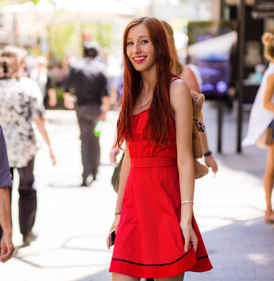 """WA: Shanae Cole, Student, Perth. """"I don't have a particular style because I honestly change so many times!"""" Photo: <a href=""""http://www.rahstudios.com.au/street-style.html/"""" target=""""_blank"""">Alain Quah</a>"""