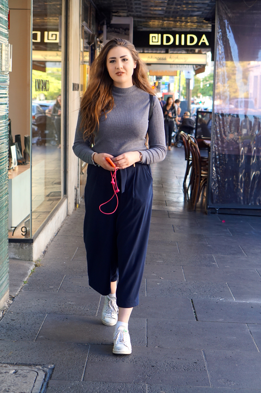 """Vic: Alex Phillips, Student, Chapel St South Yarra. """"I'm on my way to drink my feelings."""""""