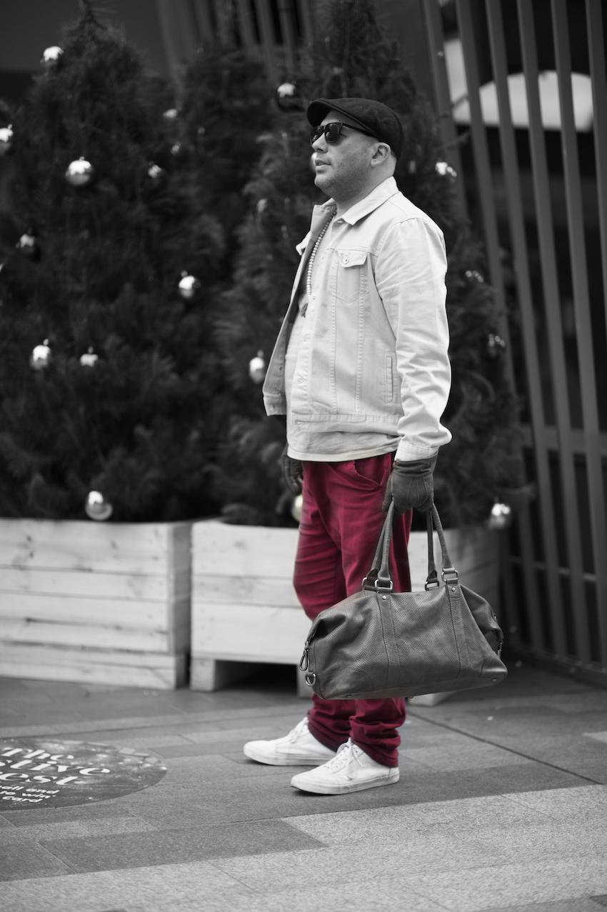 SA: Justin Buckley, Rundle Mall. Photo: Eli Francis