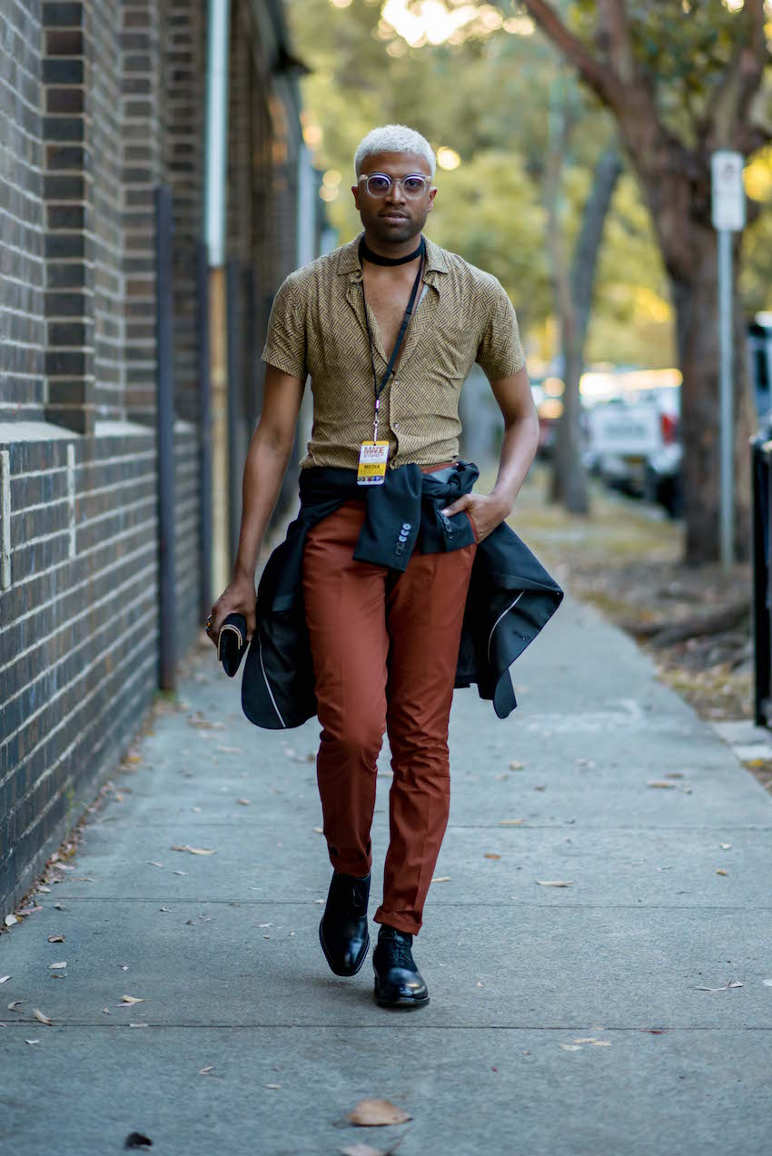 NSW: Futol Aymeric, Stylist, Fa Concept Mag, Sydney. Photo: Dimitra Koriozos