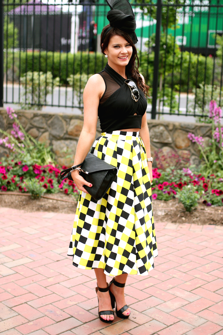 """Vic: Katie Mitchell, Mental Health Nurse,Melbourne Cup. """"It's not about the brand, its about the style..."""" Photo: <a href=""""http://www.marythamphotography.weebly.com/"""" target=""""_blank"""">Mary Tham </a>"""