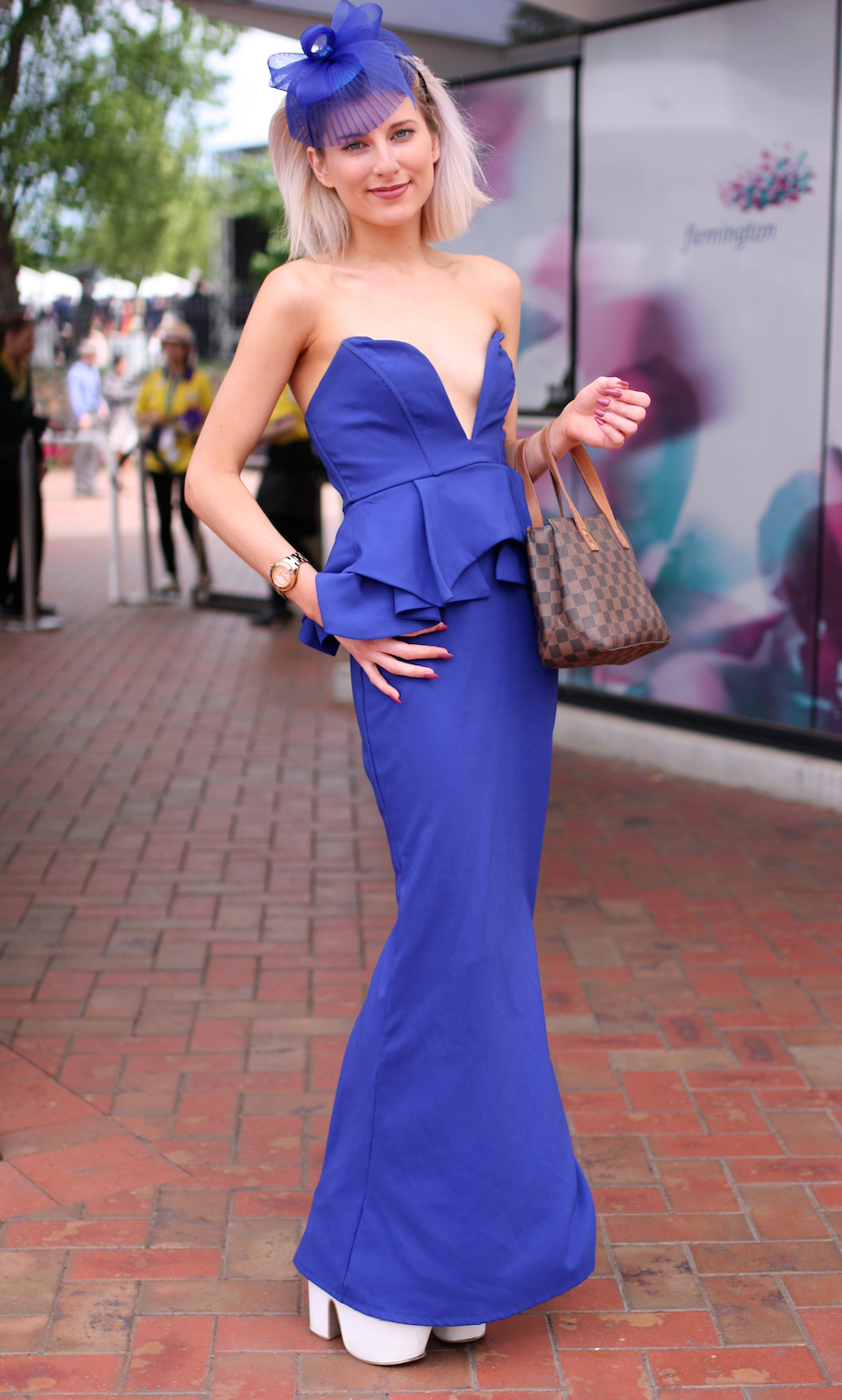 """Vic: Madison Robinson, Melbourne Cup. Photo: <a href=""""http://www.marythamphotography.weebly.com/"""" target=""""_blank"""">Mary Tham </a>"""