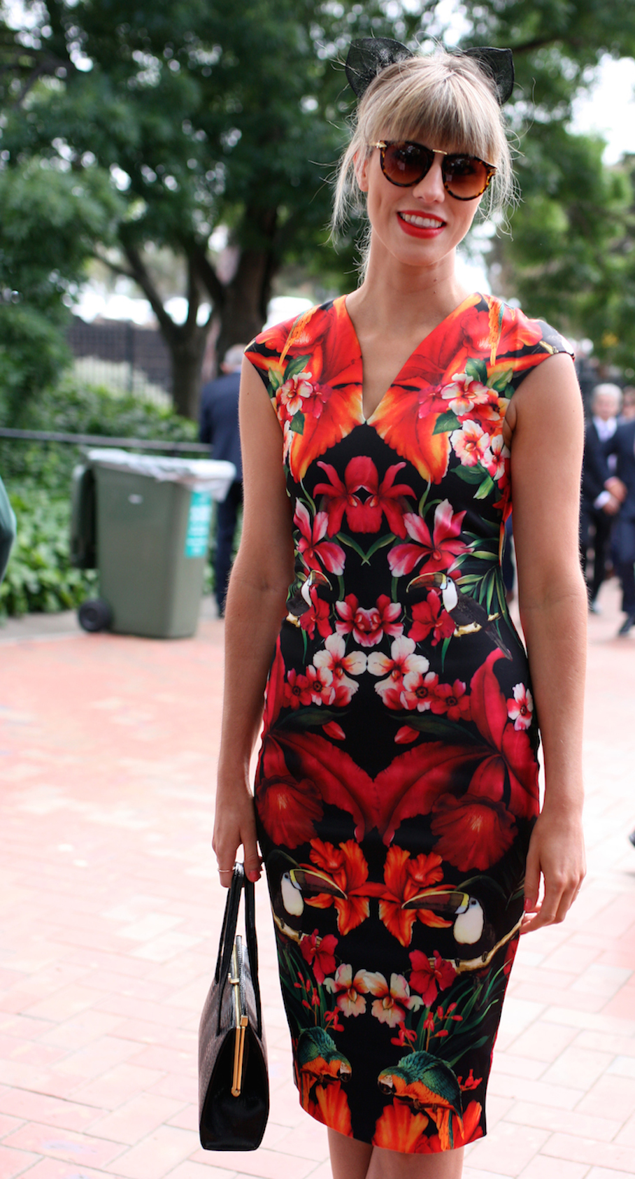 """Vic: Katie Mellor, Doctor, at the races, Flemington. Photo: <a href=""""http://www.marythamphotography.weebly.com/"""" target=""""_blank"""">Mary Tham </a>"""