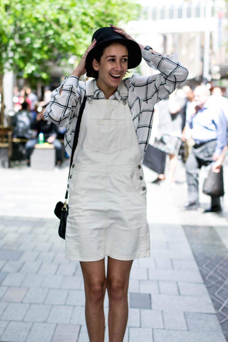 "NSW: Tanushri Saha, student, Sydney. ""My style is minimalist."" Photo: Alice Sciberras."
