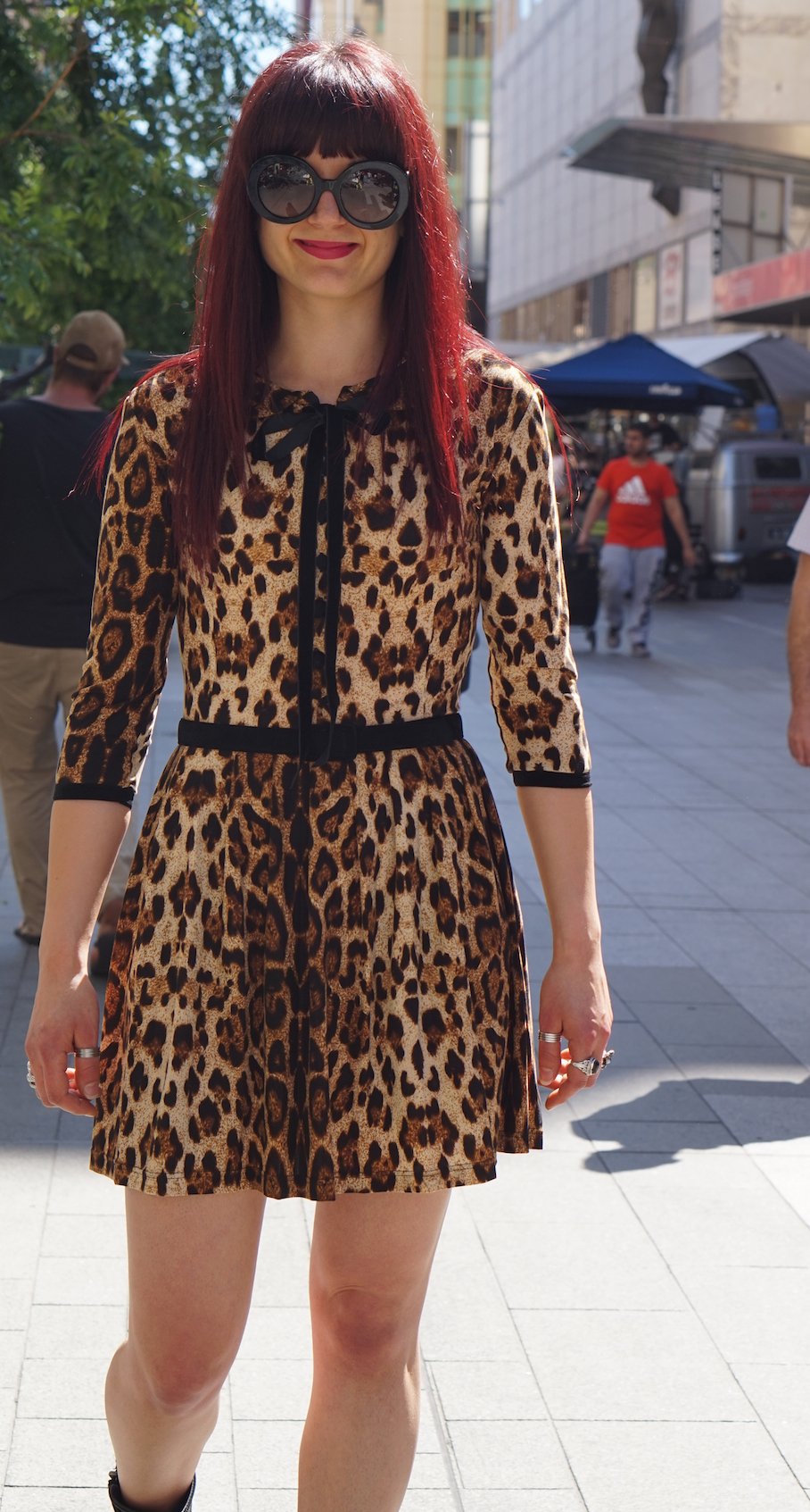"""SA: Jenna Mallios, Sales Consultant, Adelaide. """"I wear what I feel like. I have my own style."""""""