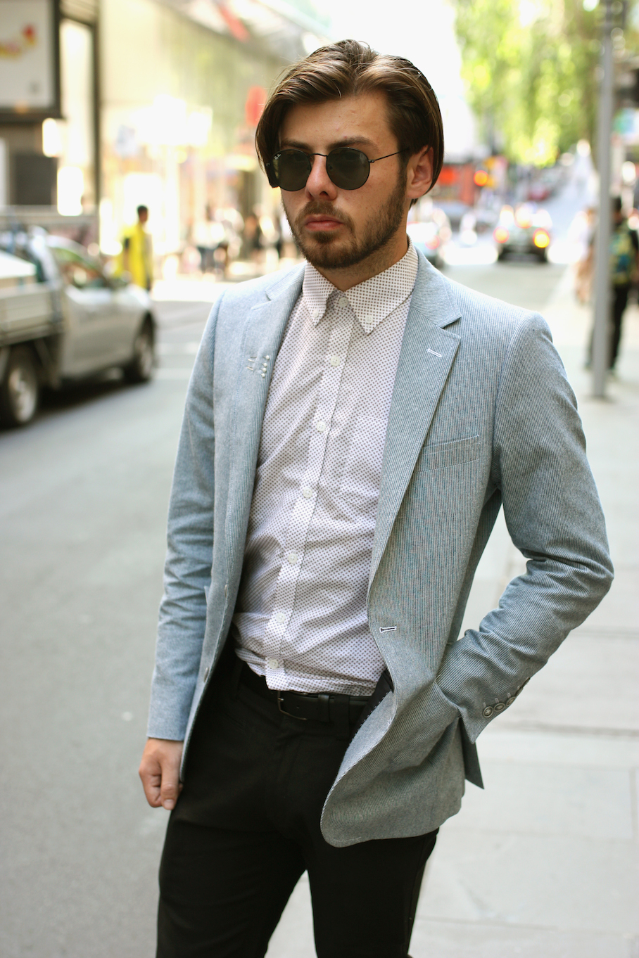 """Vic: Kieron Laity, Suit Tailor (Godwin Charli). """"The best dressed Welshman in Melbourne."""" Photo: <a href=""""http://www.marythamphotography.weebly.com/"""" target=""""_blank"""">Mary Tham </a>"""