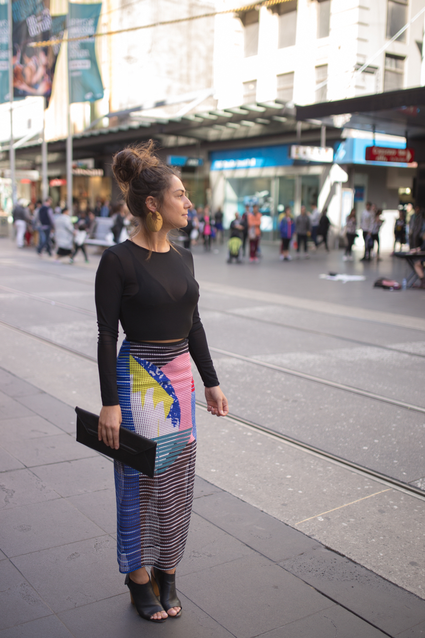 "Vic: Soraya Darwish, Hospitality, Bourke St, Melbourne. ""I love rocking up wedding style."" Photo: Ryan Murch"