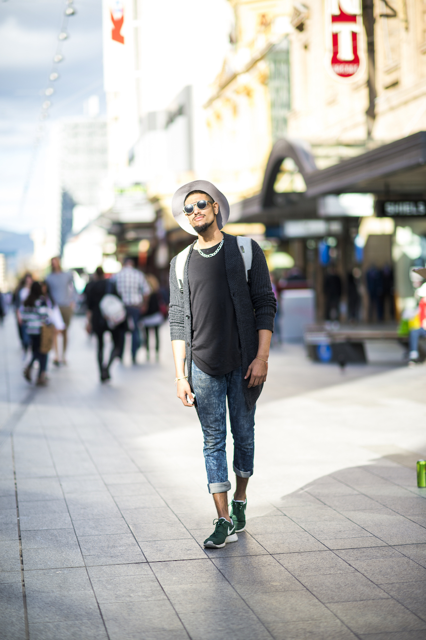 SA: Shahbaz Gill, Sales, Rundle Mall, Adelaide. Photo: Eli Francis