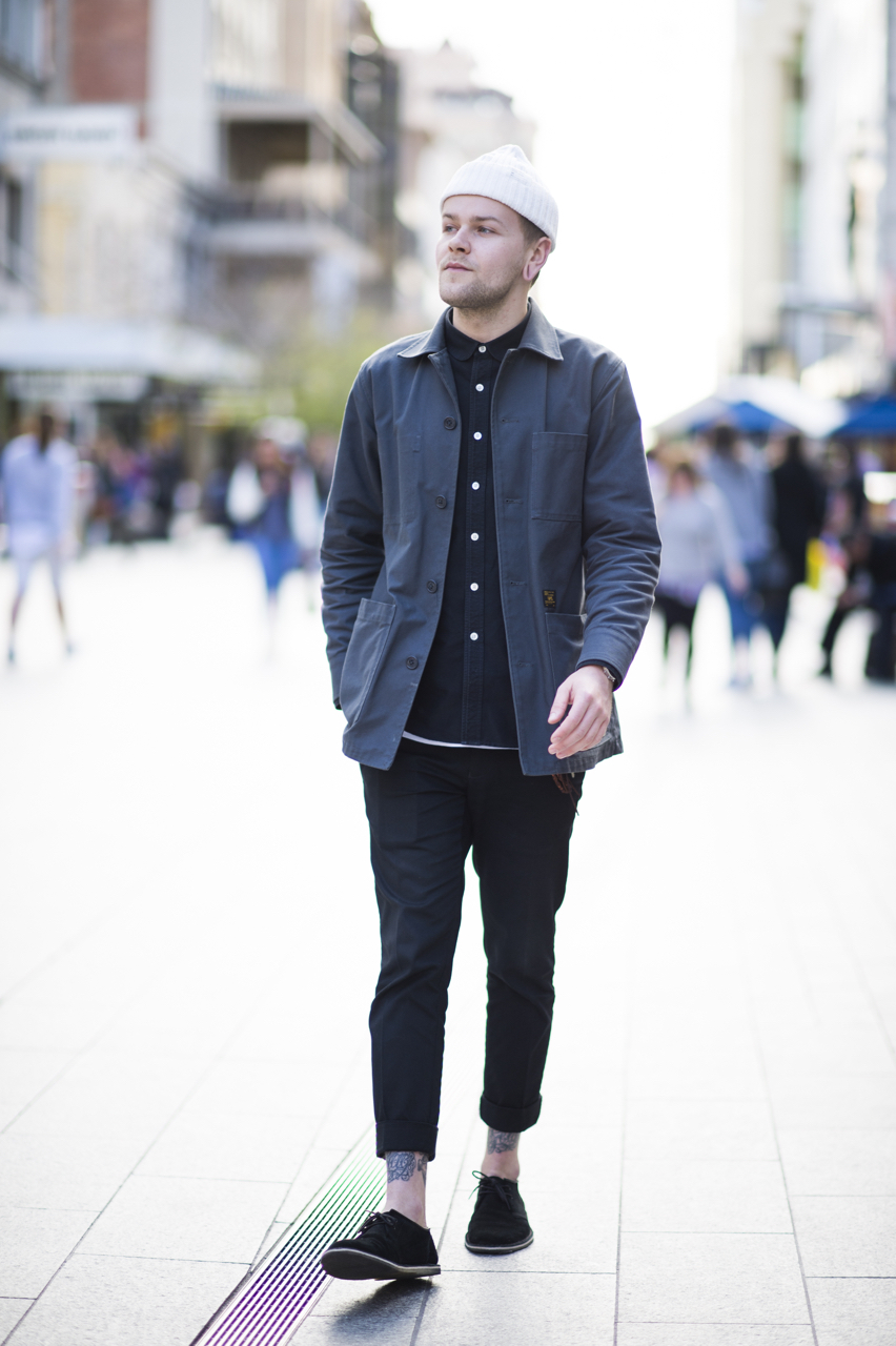 "SA: Jake Boylen, Fashion Retail, Adelaide. ""Quality over quantity."" Photo: Eli Francis"