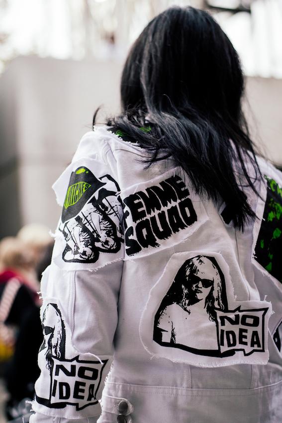 Latest Australia style fashion - Photographed at Fashion Week, Sydney