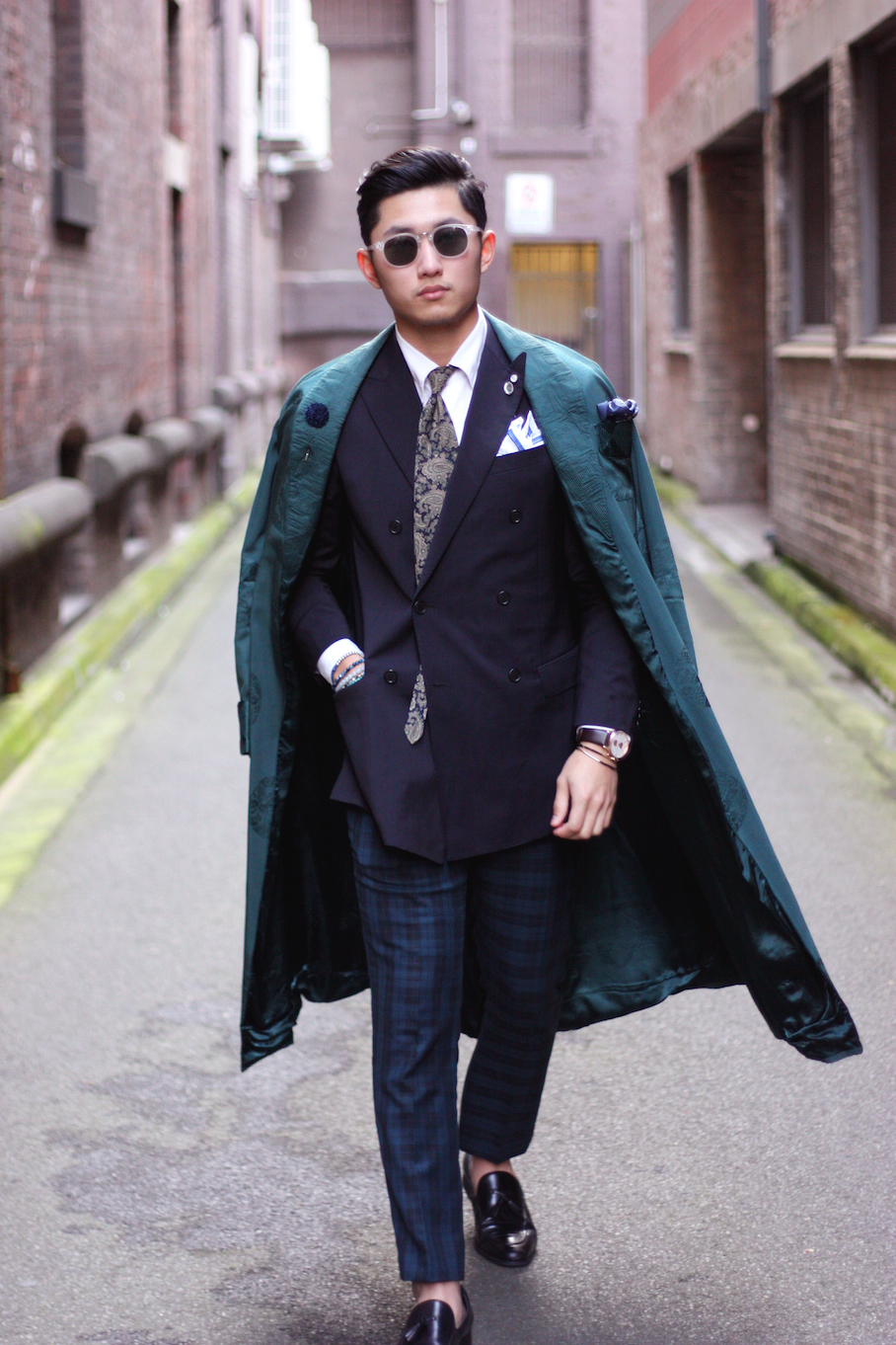 """Vic: Pepe S Siyarong, Retail Stylist, Little Bourke St, Melbourne. """"My style is out of the ordinary, freestyle and streetorial.""""  <a href=""""http://www.marythamphotography.weebly.com/"""" target=""""_blank""""> Photo: Mary Tham </a>"""