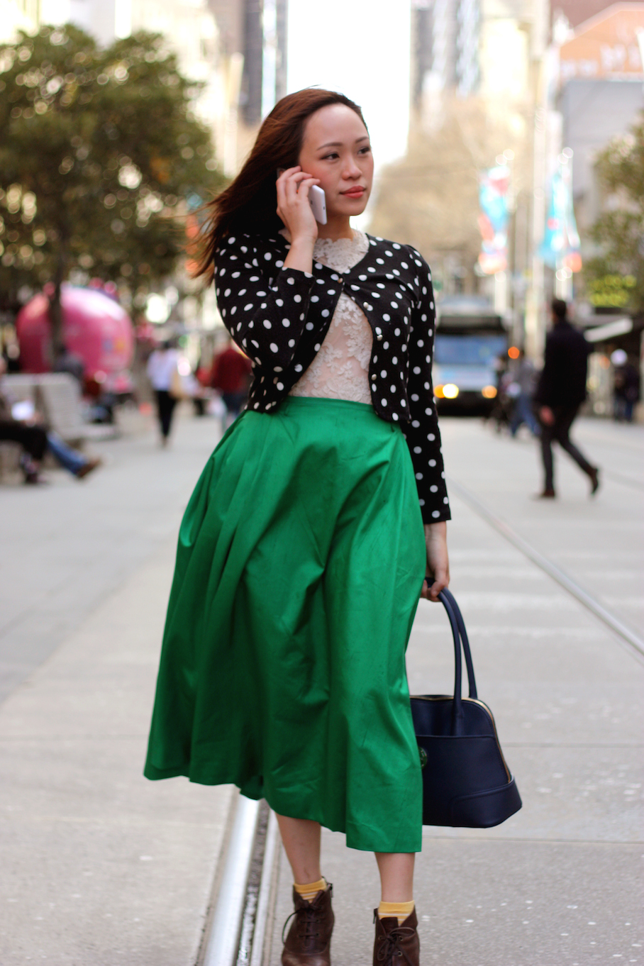 """Vic: Joanne Khoo, Business Owner, Melbourne City. """"I like layering my clothes and mixing more feminine items with more edgy pieces.""""  <a href=""""http://www.marythamphotography.weebly.com/"""" target=""""_blank""""> Photo: Mary Tham </a>"""