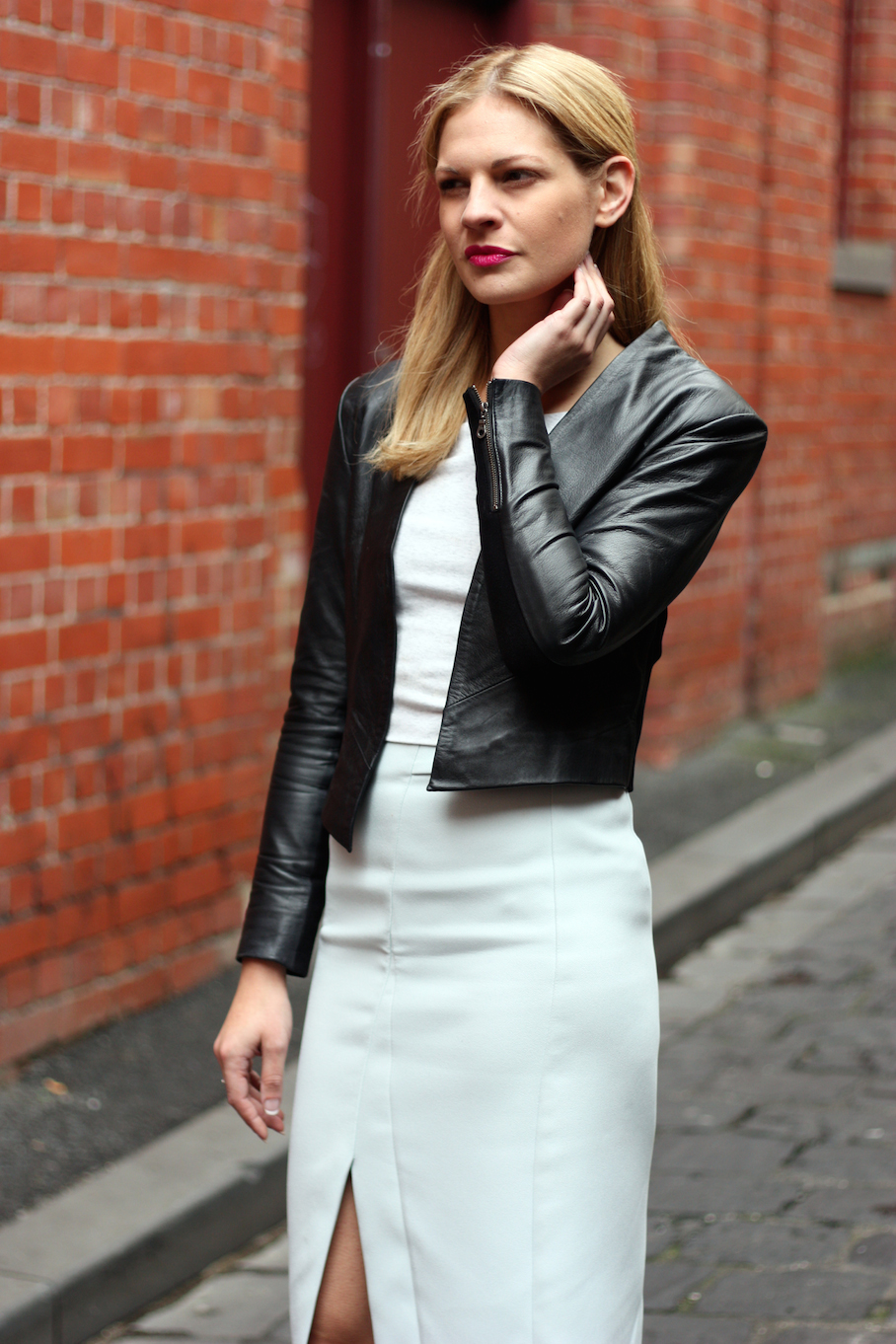 """Vic: Lauren Kate Dunn, Store Manager, Drewery Lane, Melbourne. """"I have a classic, simple style.""""  <a href=""""http://www.marythamphotography.weebly.com/"""" target=""""_blank""""> Photo: Mary Tham </a>"""