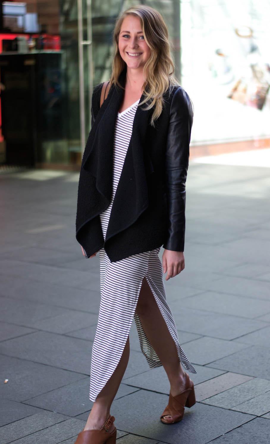 "NSW: Jessie Lander, receptionist, Pitt St Sydney. ""I wear whatever catches my eye that morning."" Photo: Alice Scriberras"