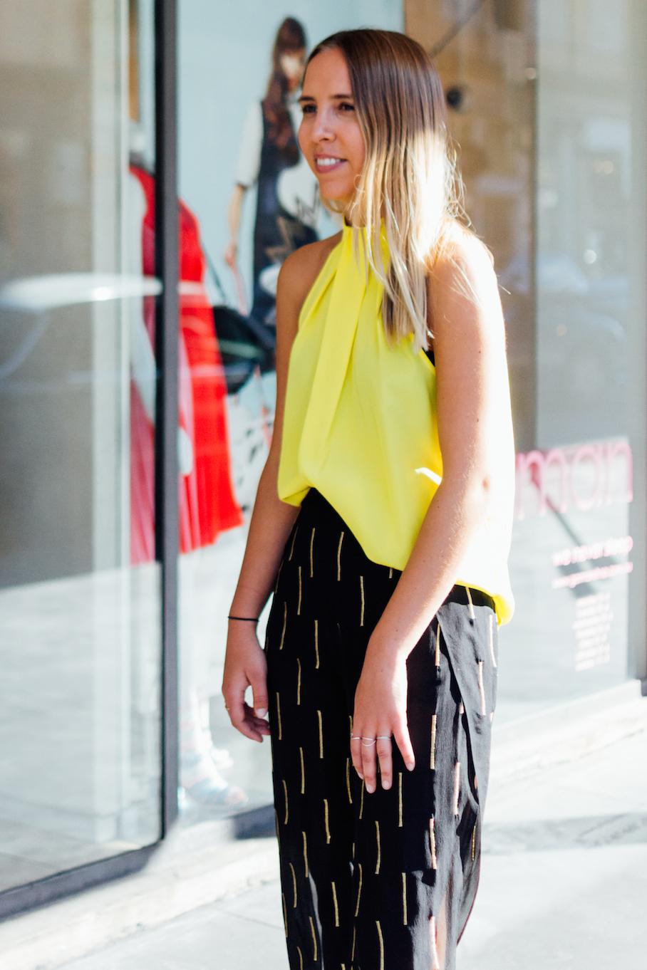 "SA: Maya Kolega, Store Manager, Adelaide. ""My style? ""Groovy Baby!"" Photo: Dimitra Koriozos."