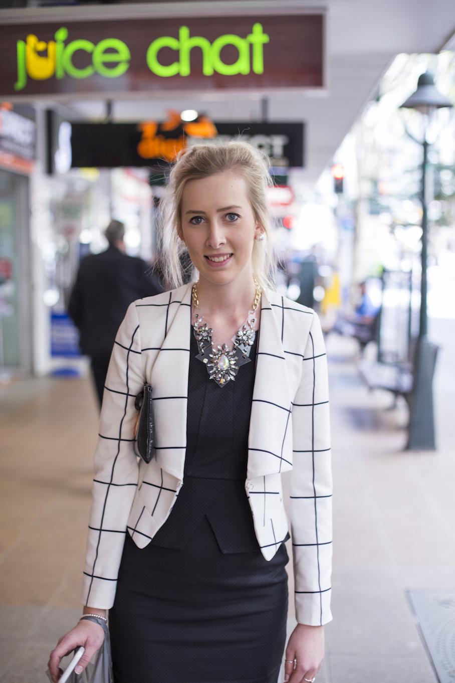 Qld: Demi Johnson, Paralegal, Adelaide St, Brisbane. Photo: Jessica Baker.