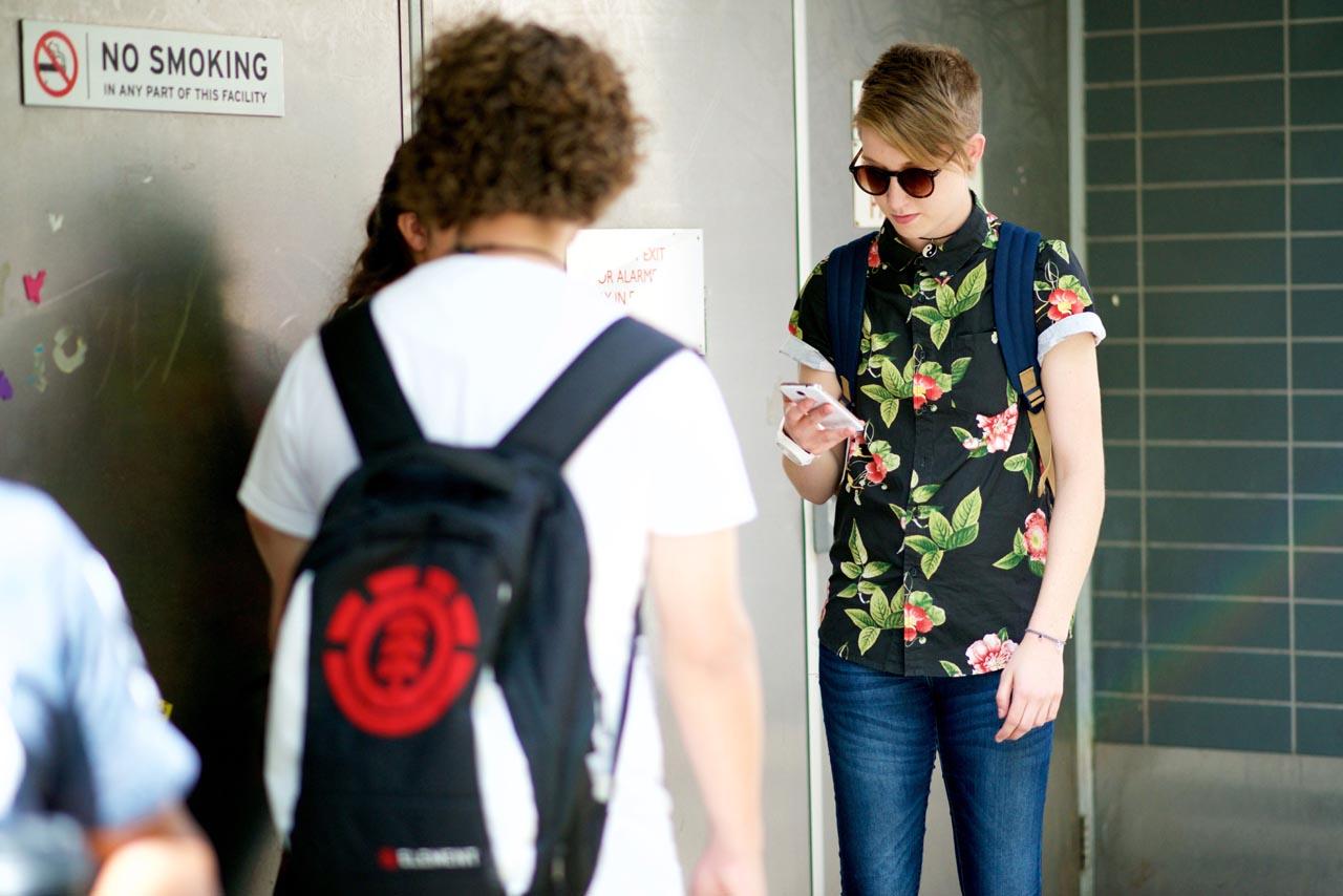 WA: Neesh Cahpman, Student, Perth City. Phot: Alan Wu