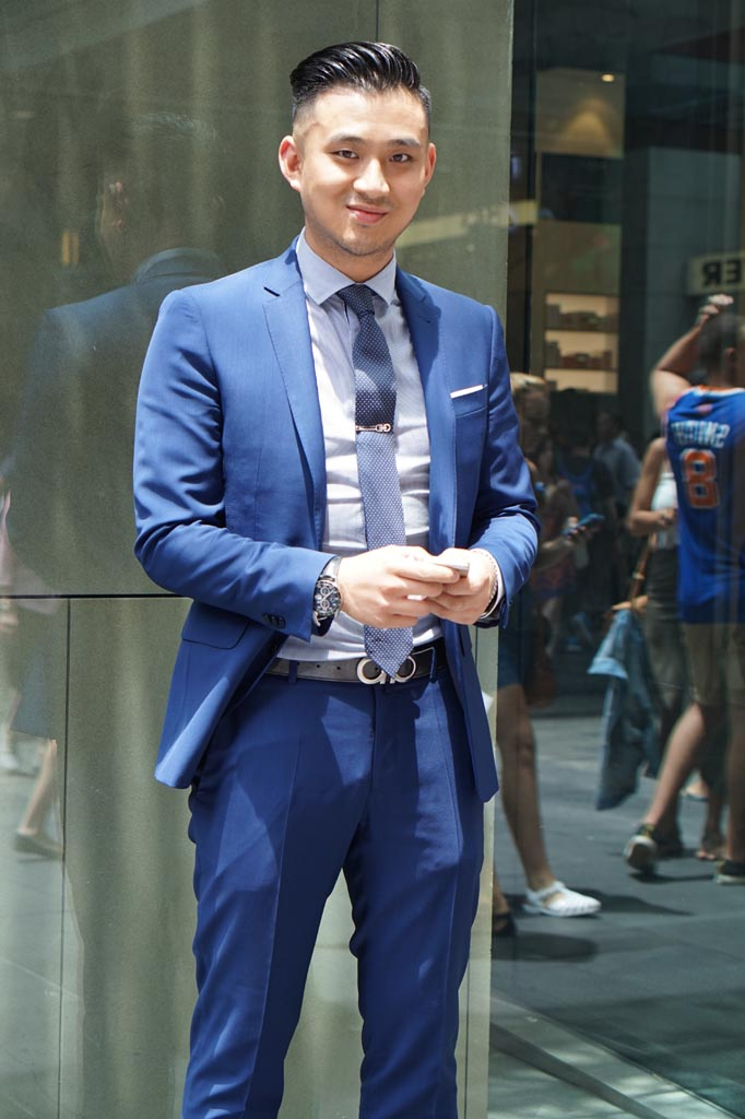 NSW: Snapped on his birthday, Bo Zhuang, Business Development Manager, Sydney.