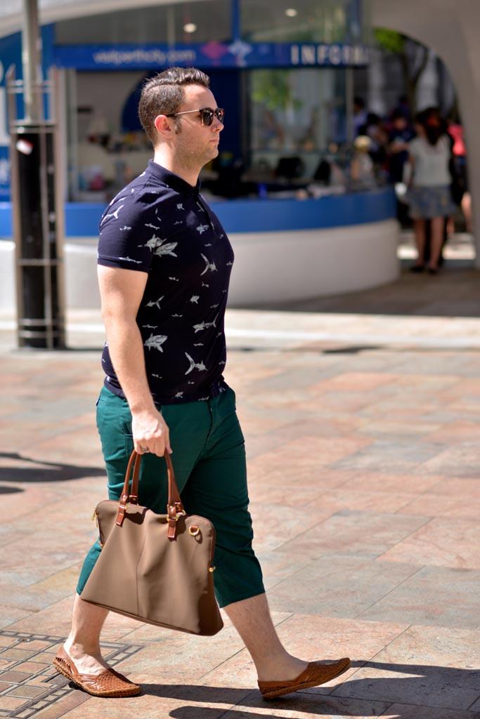 WA: Aaron Blazic, Retail Manager, Murrary Street, Perth. Photo: Alan Wu