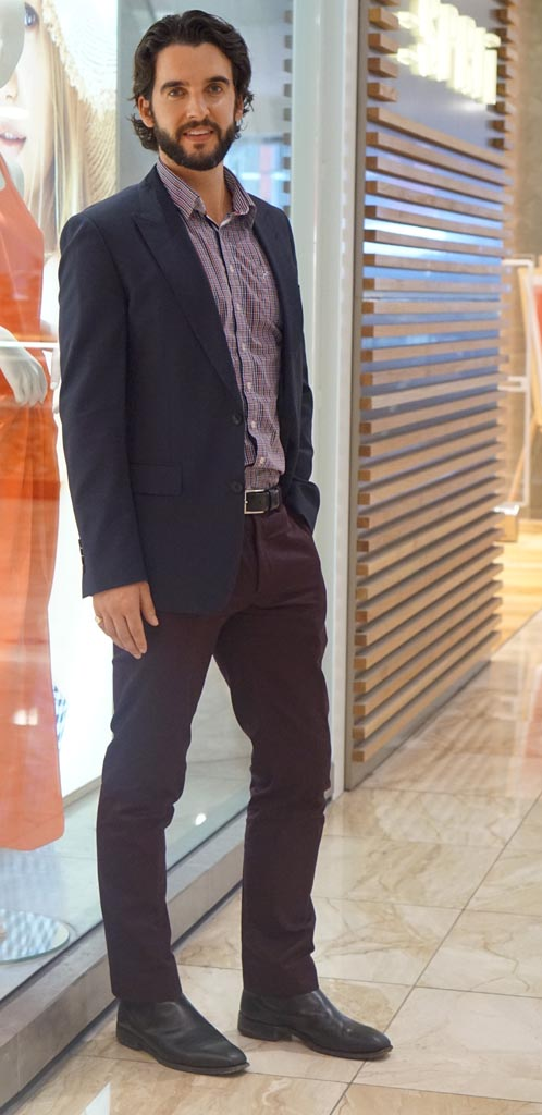 SA: Andrew Fisher, environment lawyer, Rundle Place.