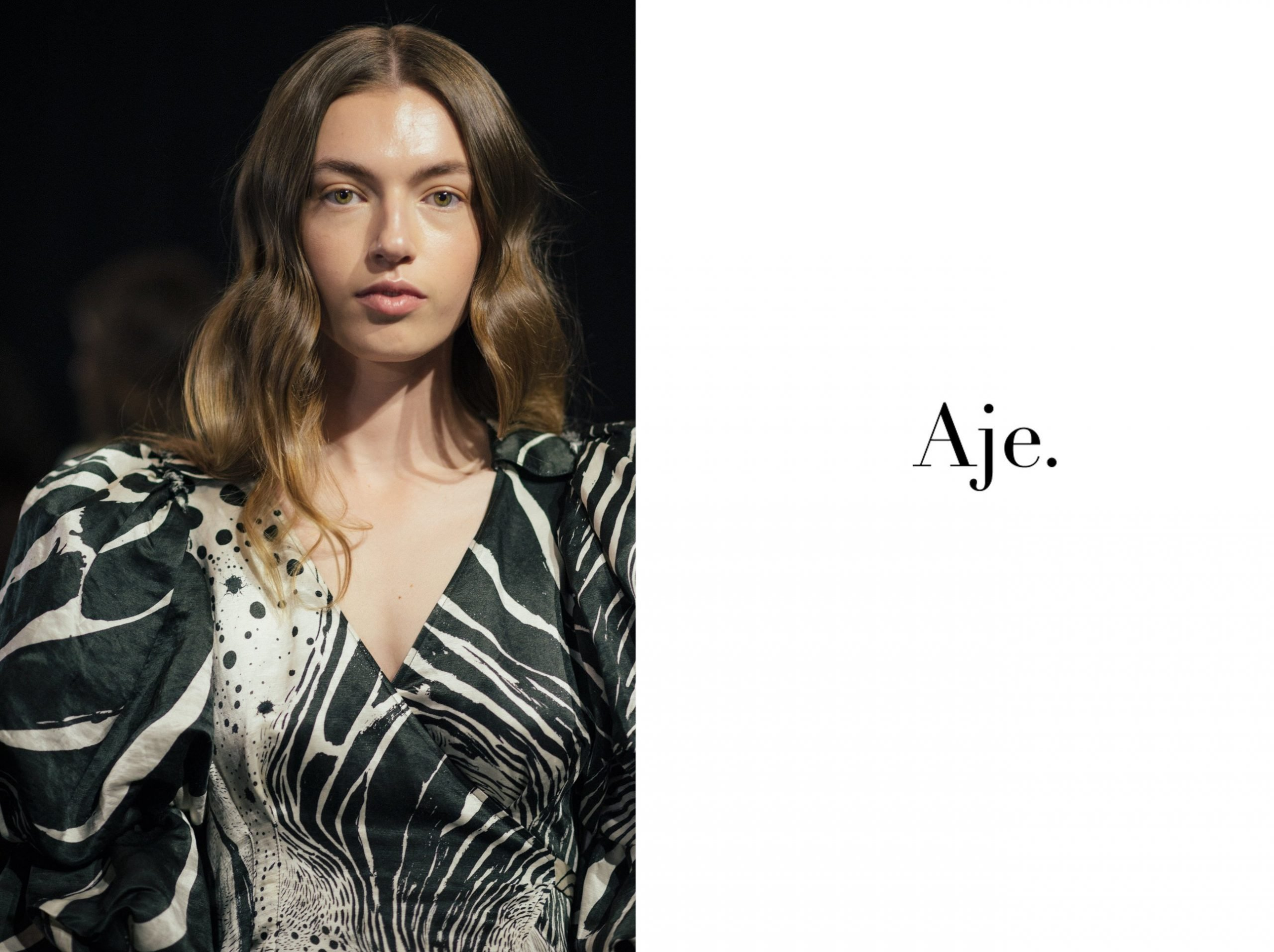 Aje Backstage at the 20th Telstra Perth Fashion Festival