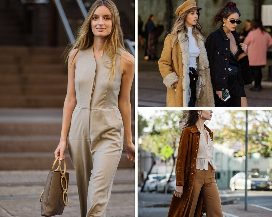 70's Trends in Autumn tones at MBFWA