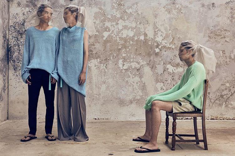 Australian fashion designer Chris Ran Lin