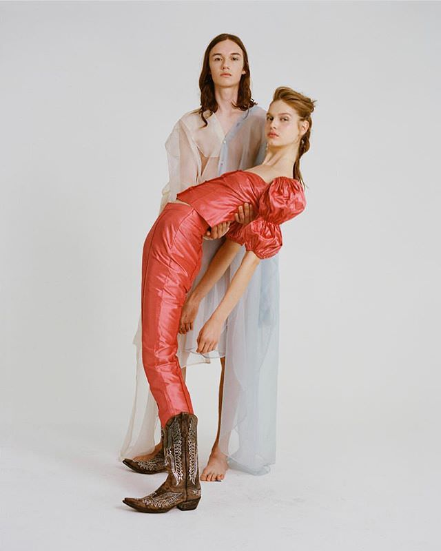 Australian fashion designer Arnsdorf