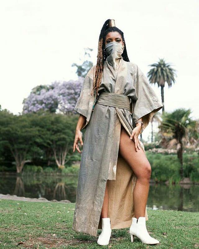Australian fashion designer Remuse