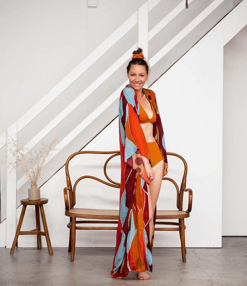 Aboriginal Fashion designer Amanda Healy's label, Kirrikin
