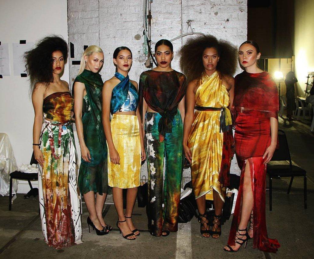Aboriginal designer Lyn-al Young's designs