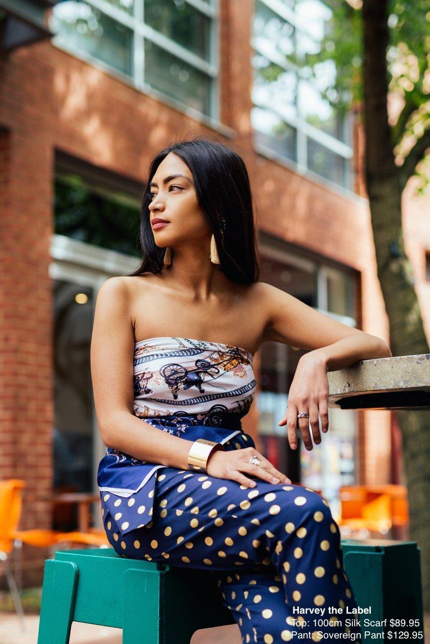Anna Enriquez Harvey The Label8