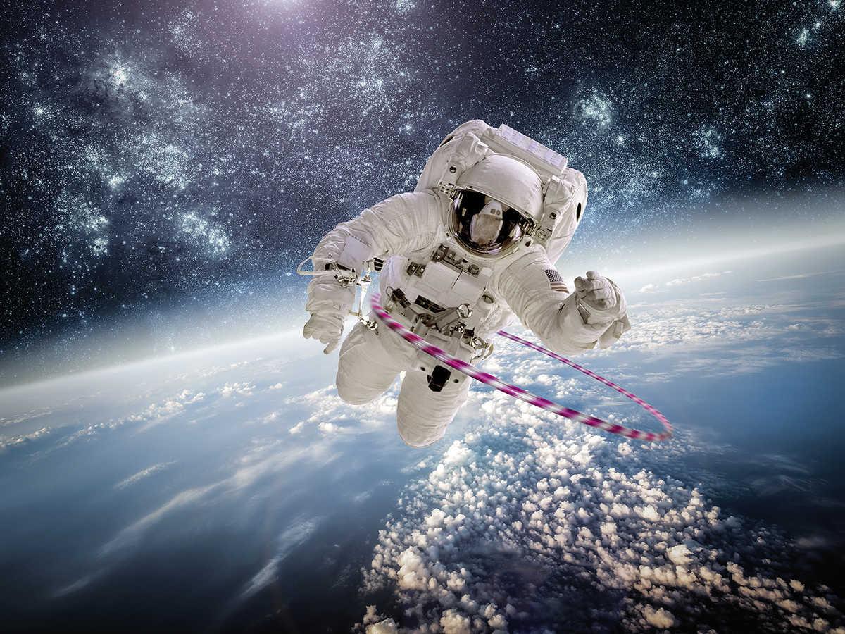 Astronaught by Jirko Bannas, available at Lumas Gallery