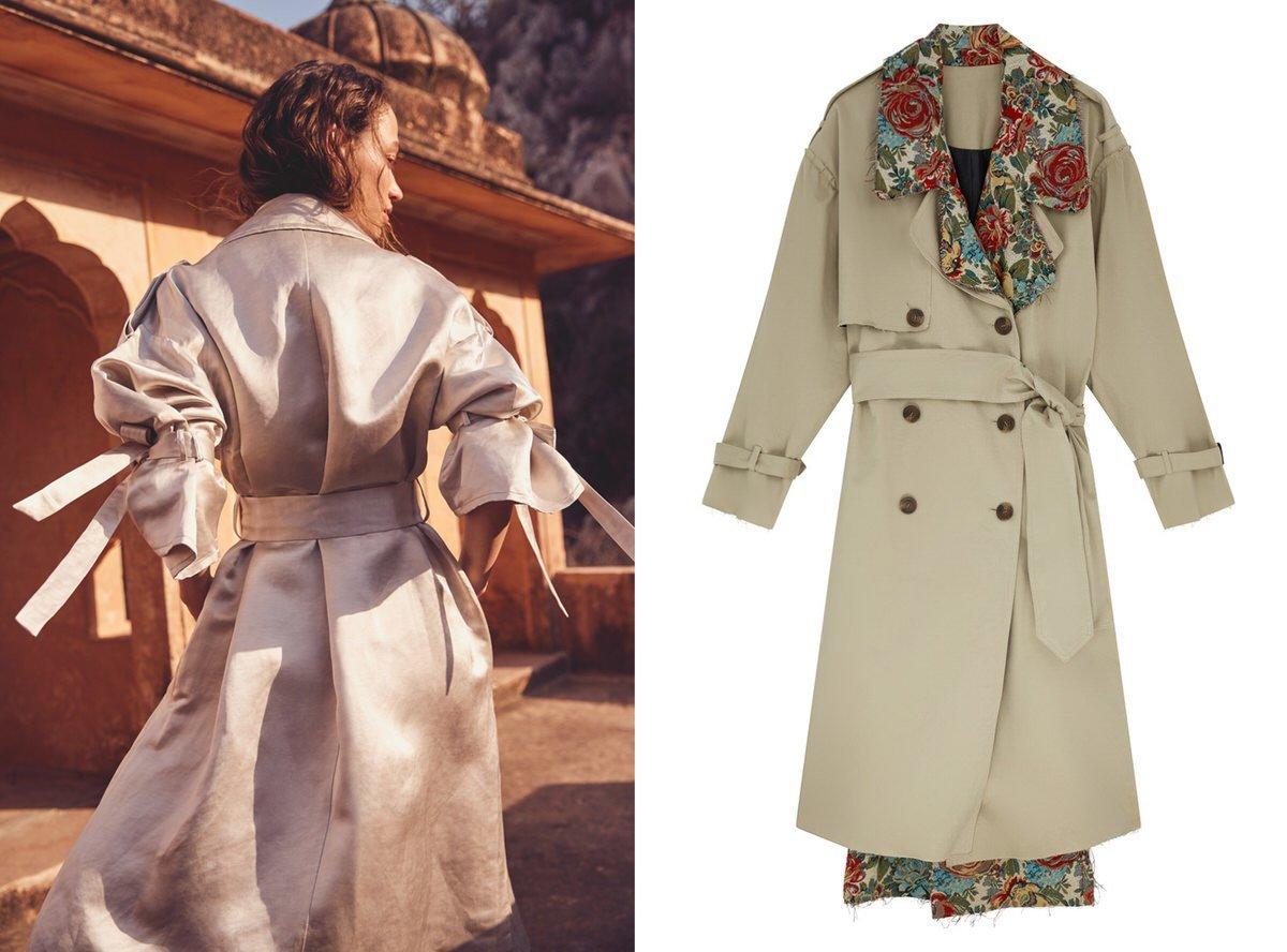 trench coat styles