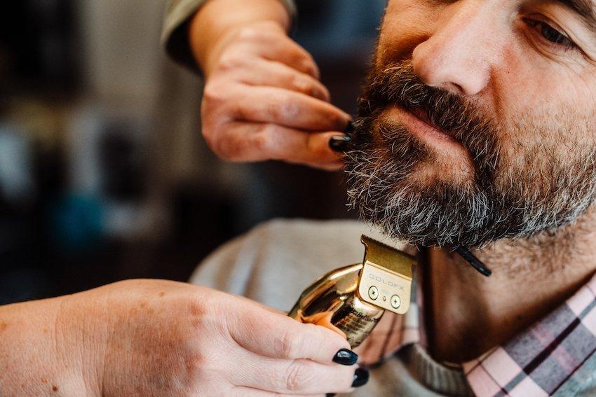 Hahndorf festival - Beard and Beer mens grooming night