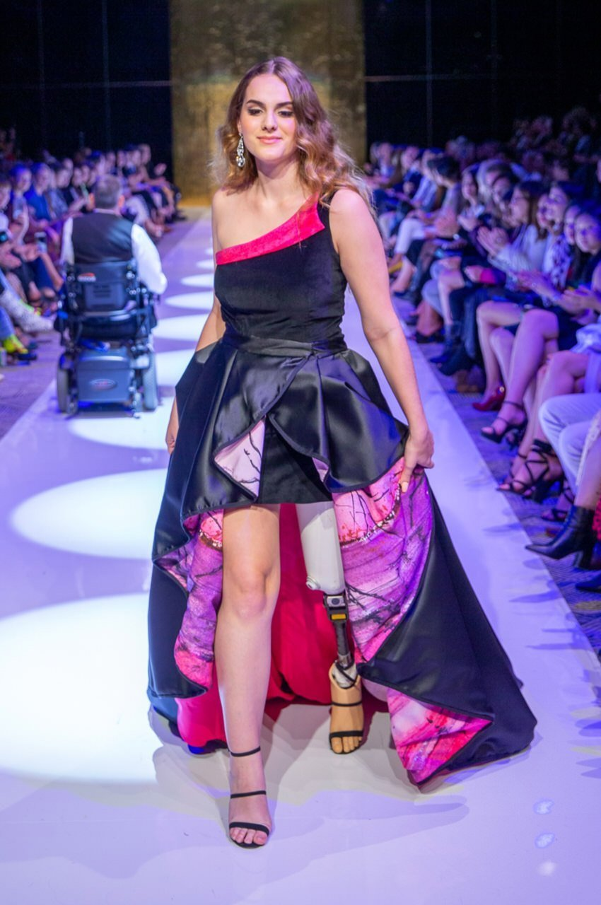MeQ Designs runway at Brisbane Fashion Festival