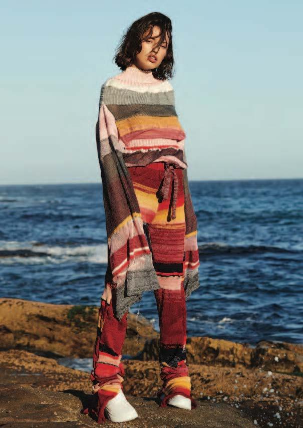 Chloe Mottau design- one of the four emerging Australian designers to showcase at MBFWA