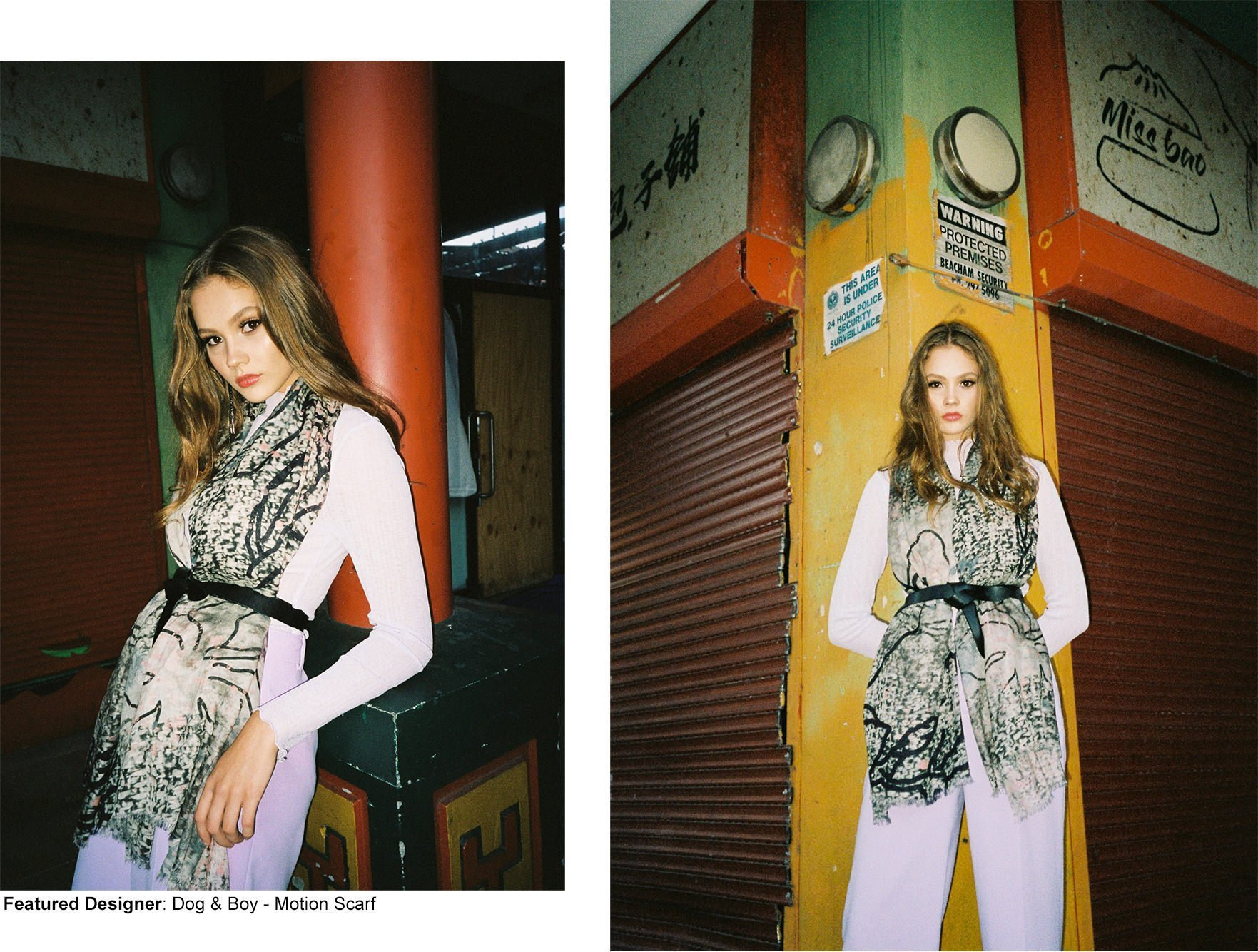 Fashion editorial Chinese New Year