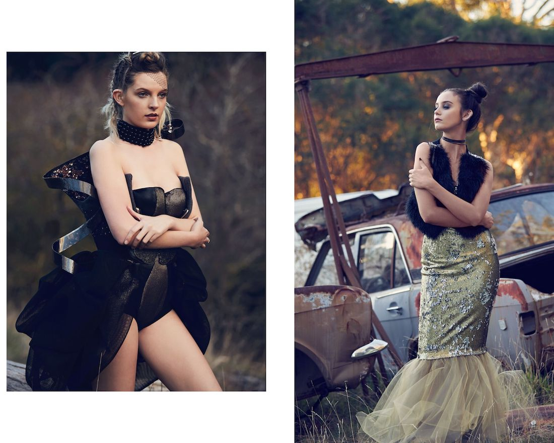 Fashion Shoot with editorial stylisng by Claire McKay