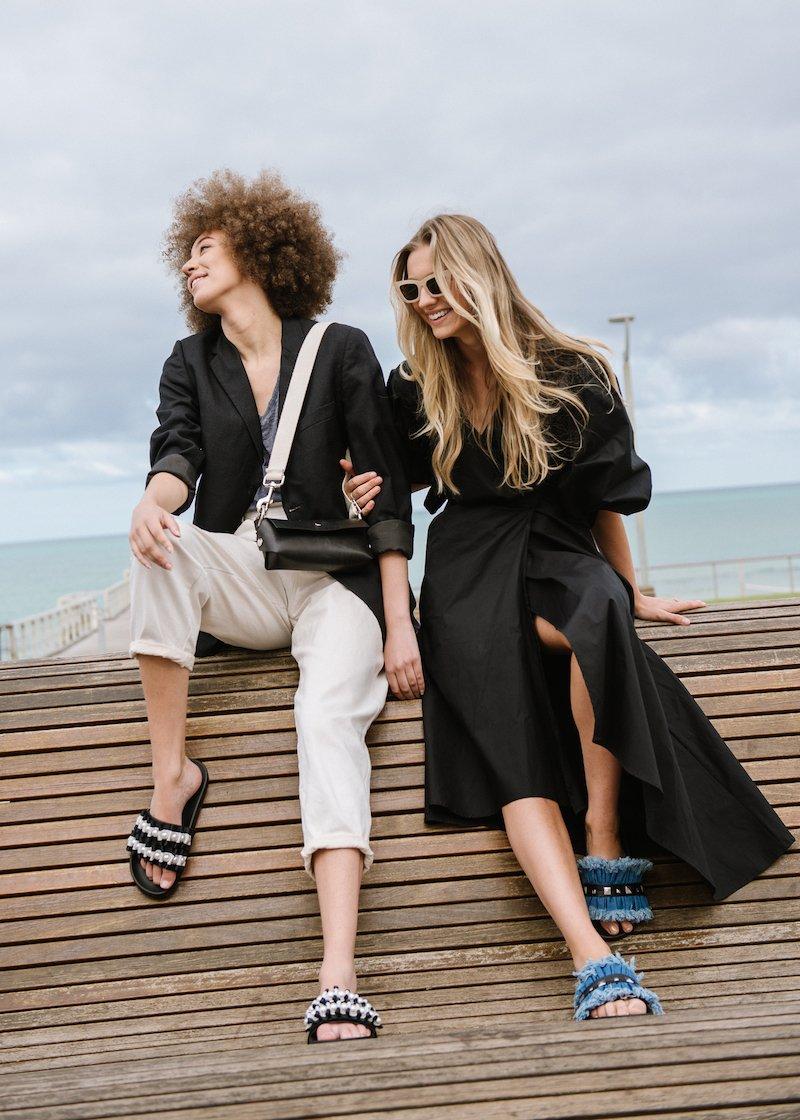 NYOF Slides Fashion Shot with Cocktail Revolution Autark & Katya Komarova