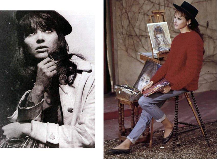 Women's Fashion Style Icon Anna Karina
