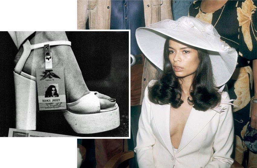 Women's Fashion Style Icon Bianca Jagger