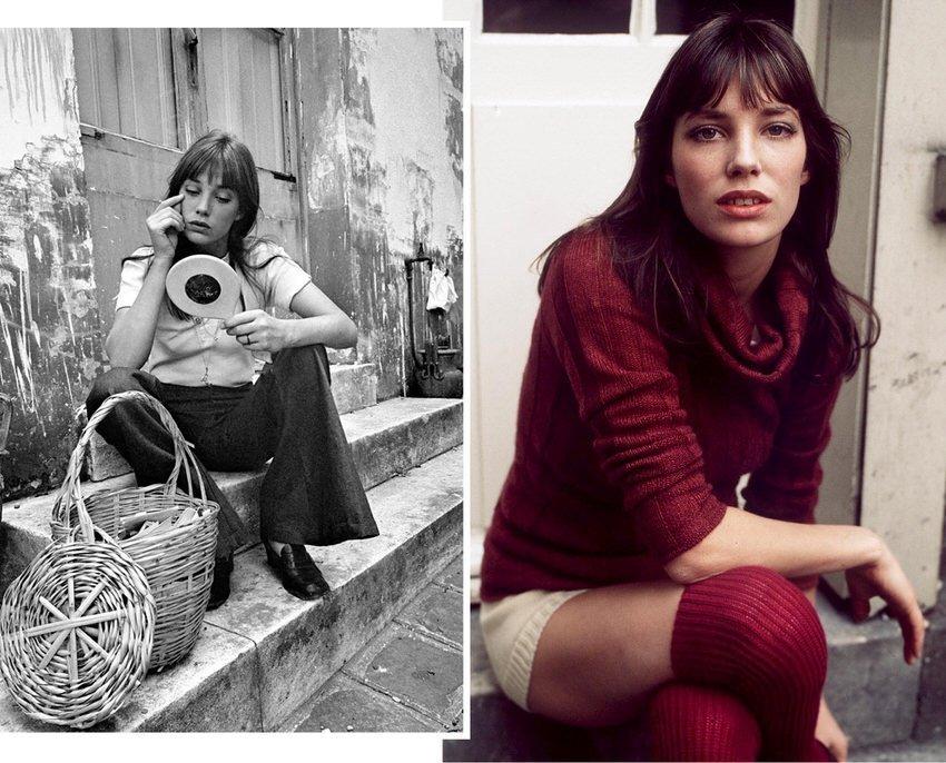 Womens Fashion Style Icon Jane Birkin