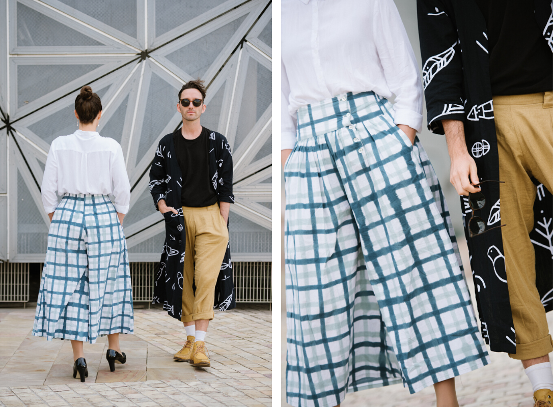 Designer street style with Joel and Rachel from Frank and Dolly's