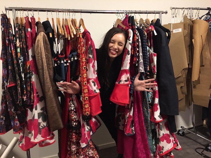 Cassie Hewitt, the designer behind new Australian label Cassea