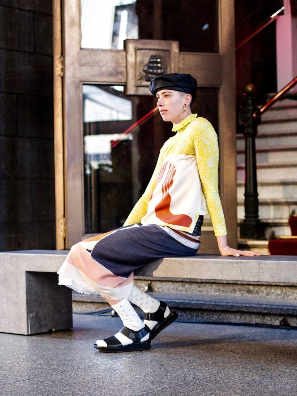 Ethical clothing Showcase at Melbourne Fashion Week