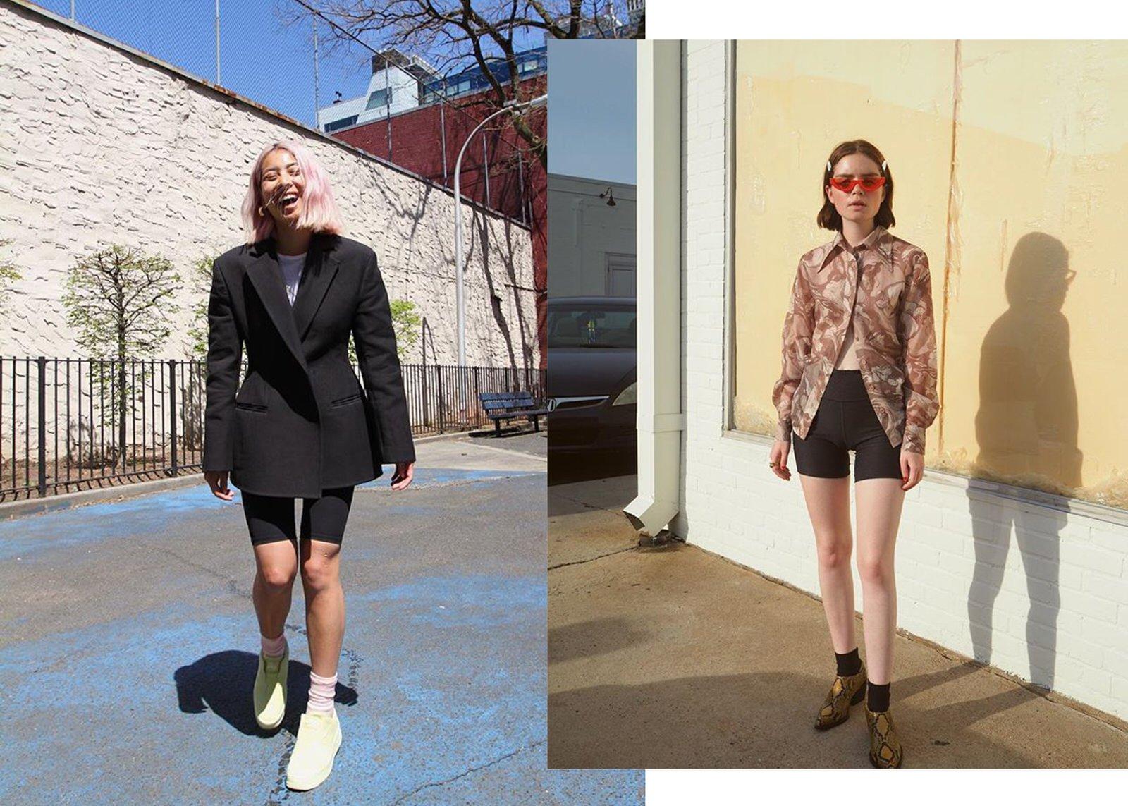 Bike shorts fashion trend in 2019
